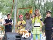 Festiwal Teatrów Ulicznych w Pniewach - grupa Gęba 14.06.09